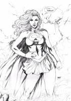 Supergirl by Deilson