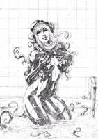 Gwen Stacy/ Venom by Deilson