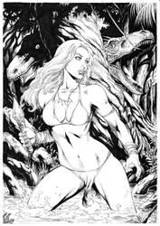 Jungle girl by Deilson