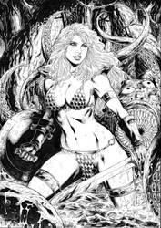 Red Sonja by Deilson