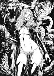 Goblin Queen by Deilson