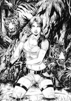Tomb Raider by Deilson