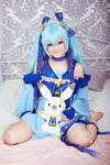 Snow Hatsune Miku 2017 (Vocaloid) cosplay by AnitramNoriko