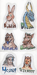 Emergency Badge Commission Examples by Boarfeathers