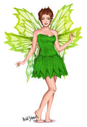 Classic Tinkerbell Character Concept Art by butterflyeyes884