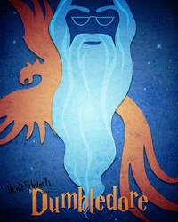 Dumbledore Minimalist Poster by butterflyeyes884