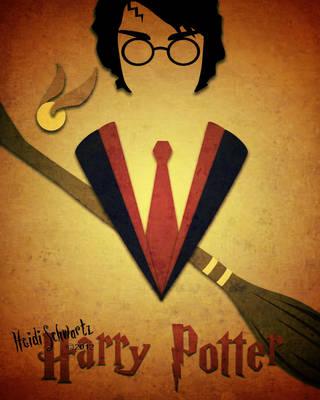 Harry Potter Minimalist Poster by butterflyeyes884