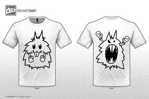 cute n scary t shirt comp by Mckdirt