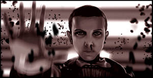 Eleven. Stranger Things by Mckdirt