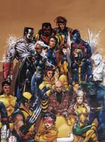 X-Men '92 Sketch by Katase6626