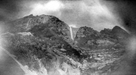 Ushba waterfall by gndrfck