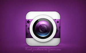 Night sky app icon by junoteamvn