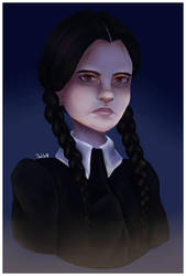 Wednesday Addams  by MisBlis