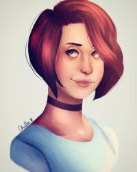 Persona Painting by MisBlis