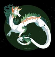 Dragon-A-Day 093 by Mythka