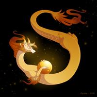 Dragon-A-Day 131 by Mythka