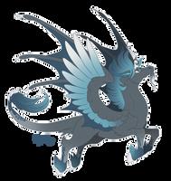 Dark-wind Pegasus by Mythka