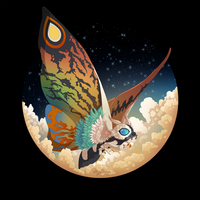 Mothra by Mythka