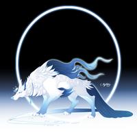 Jack Frost Wolf - DEC 14 by Mythka