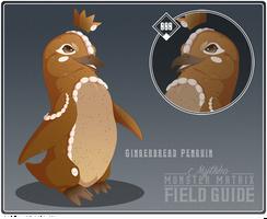 000 - Gingerbread Penguin by Mythka