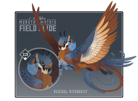 119 - Kestrel Hippogriff by Mythka