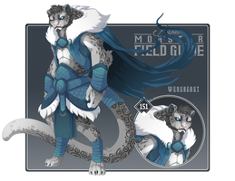 151 - Werebeast Snow Leopard by Mythka