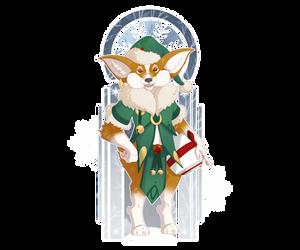 December 16 - Santa's Little Helper by Mythka