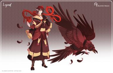 019 - Blood Mage by Mythka