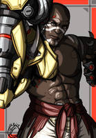 Overwatch: Doomfist by Chemical-Beatz