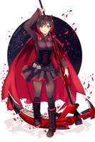 RWBY: Ruby Rose by lorrainiaful