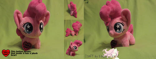 [for SALE] Pinkie Pie Chibi pony by NakedSkull