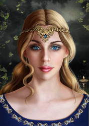 Blue Sapphire by AlessiaC