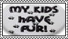 My Kids Have Fur stamp by drumgirl