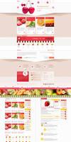 Fruit Shop (psd template) by trcakir