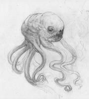 ManHeadSquid Sketch? by BerSverk88