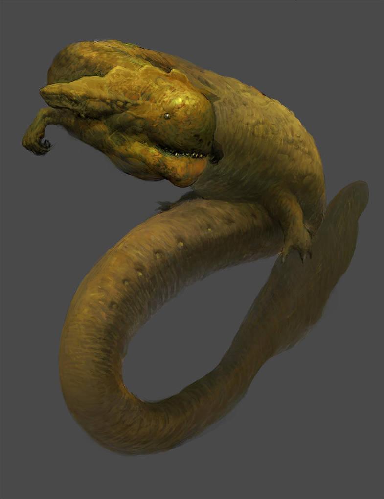 The Golden Salamander by BerSverk88