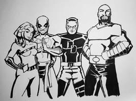 The Defenders! by jjjjehu
