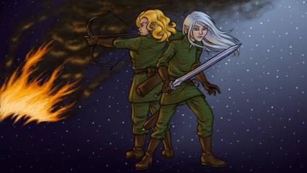 Seesha and Avara by MelAddams