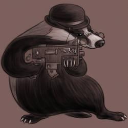 Frank 'Badger' Calhoun by MelAddams