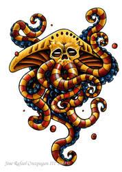 Lunar Octopus by Paladin-Ciel