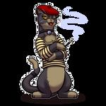 Sassy Cat by Paladin-Ciel