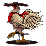 Sombrero Rooster by Paladin-Ciel