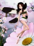 Flower Fairy by KittysTavern