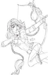 Mirage Sketch by KittysTavern