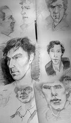 The Sherlock Sketches #1 by PurpleGoat