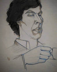 The Sherlock Sketches #5 by PurpleGoat