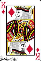 King of diamonds by PurpleGoat