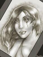 Lightning Lady by PurpleGoat