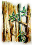 Natural in Watercolor by EsraaDesign