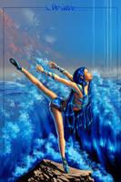 Water--Elemental Ballet by christwriter